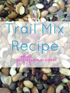 Trail Mix Updated April 14 2013