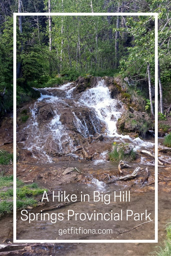 A Hike in Big Hill Springs Provincial Park