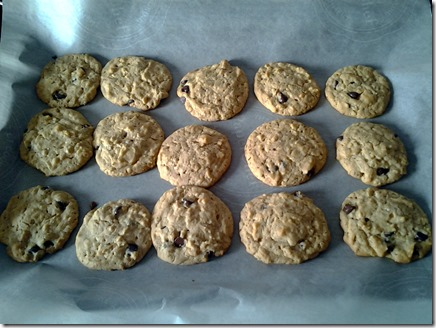 Peanut Butter Oatmeal Chocolate Chip Cookies (2)