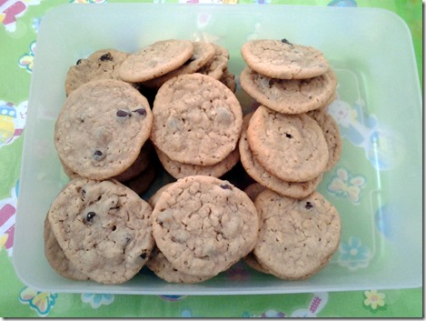Peanut Butter Oatmeal Chocolate Chip Cookies (7)