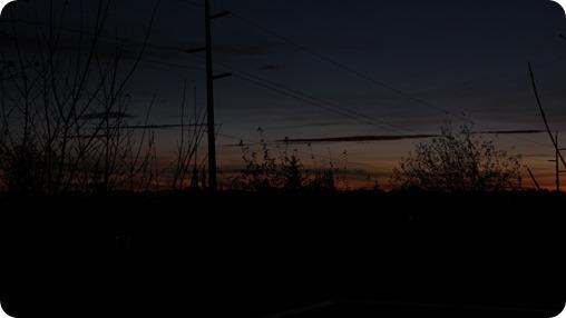 Sunset October 18 2013
