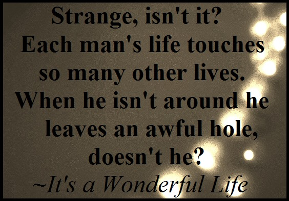 The Gallery For Its A Wonderful Life Quotes