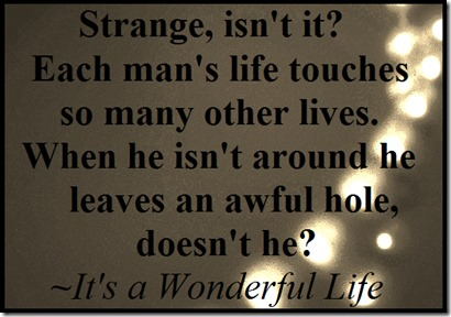 Its a Wonderful Life quote December 25 2013
