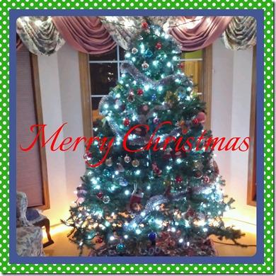 Merry Christmas Tree December 24 2013