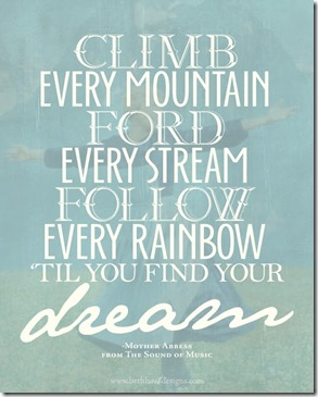 Sound of Music quote December 25 2013