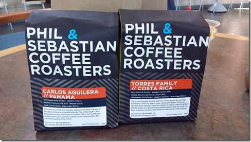 Phil and Sebastian Coffee July 9 2014