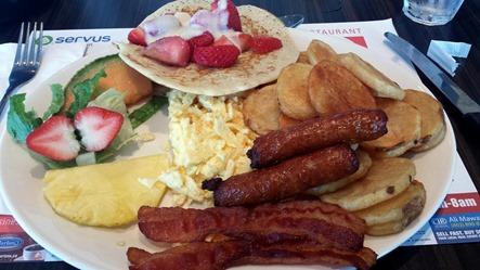 Eggs Oasis Breakfast August 2014