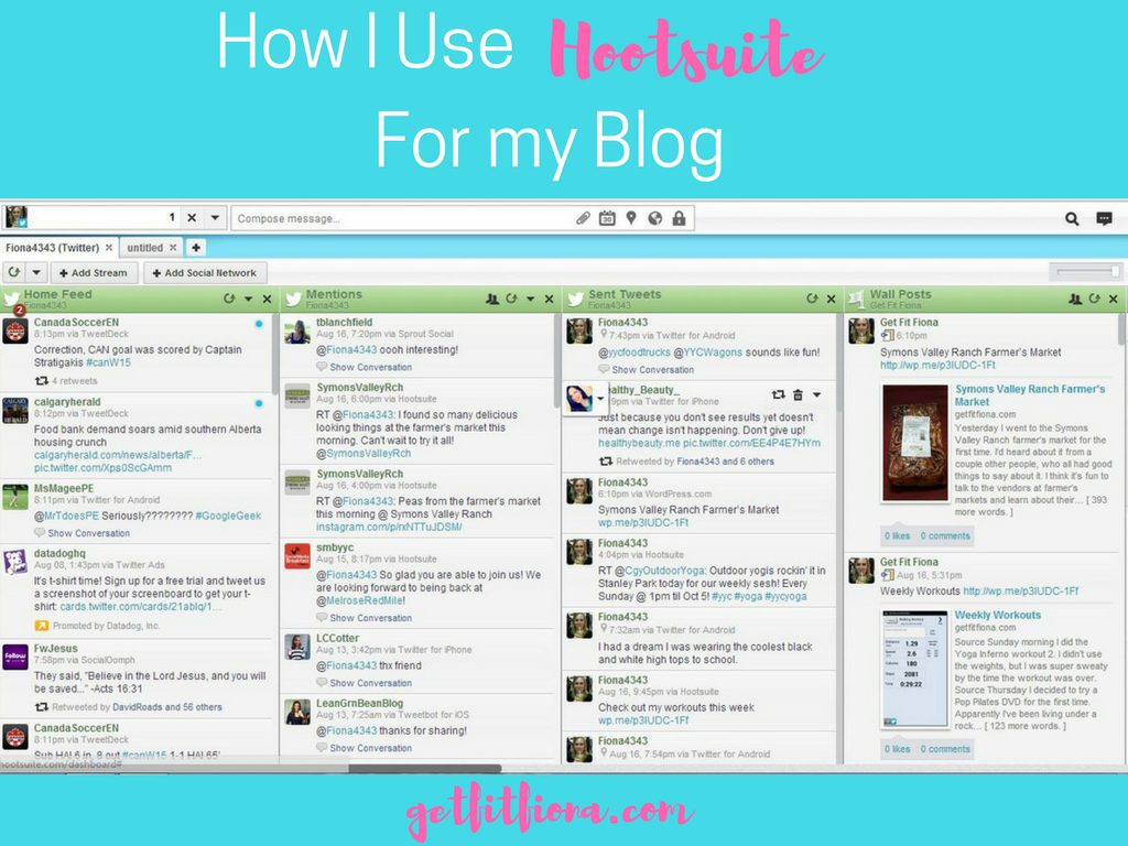 How I Use Hootsuite For my Blog