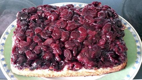 Upside Down Cherry Cake August 7 2014 (4)