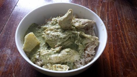 Chicken Curry September 3 2014