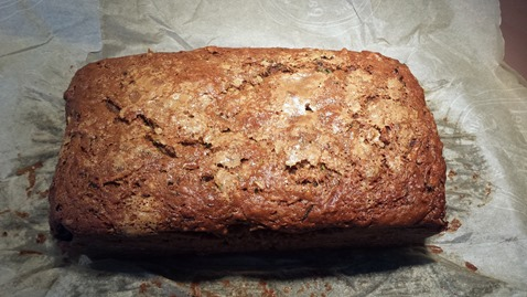 Cranberry Walnut Zucchini Bread September 2014 (2)