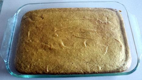 Pumpkin Cake No Frosting September 9 2014