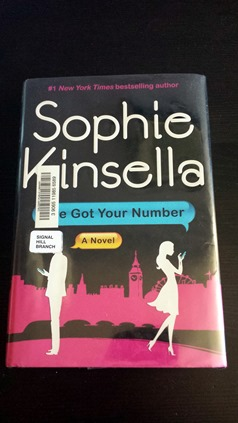 I've Got your Number by Sophie Kinsella October 10 2014