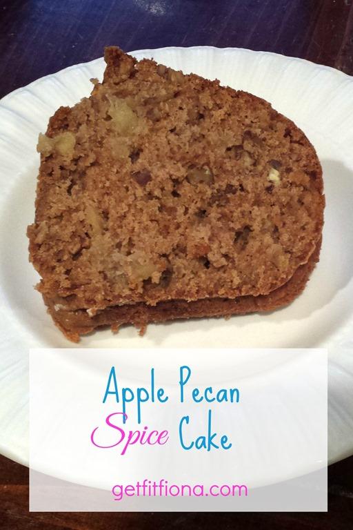 Apple Pecan Spice Cake