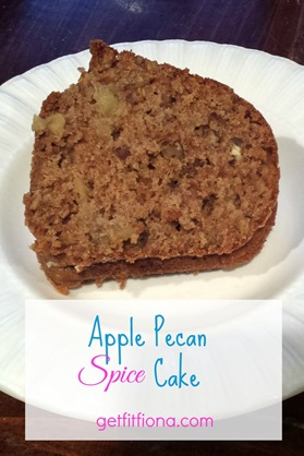 Apple Pecan Spice Cake Pinterest October 2014