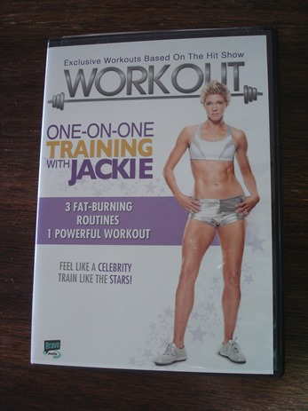 One on One Training with Jackie DVD