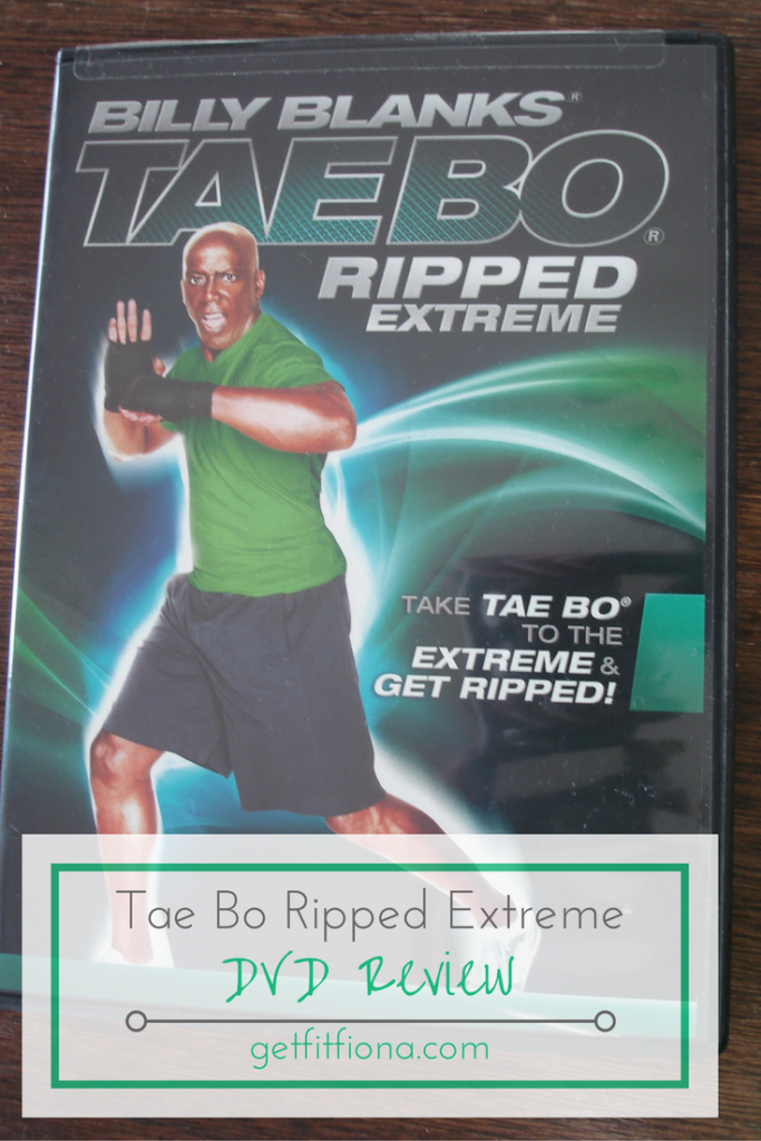 Tae Bo Ripped Extreme DVD Review