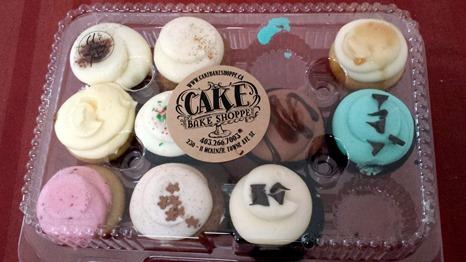 Cake Mini Muffins December 2014