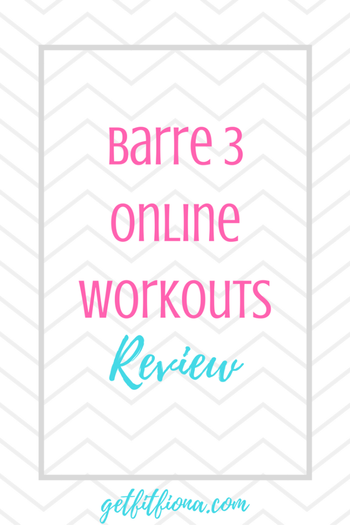 Barre 3 Online Workouts Review