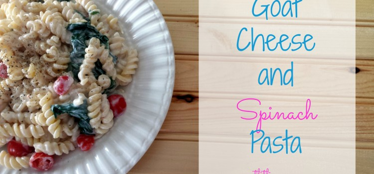 Goat Cheese Spinach Pasta Recipe