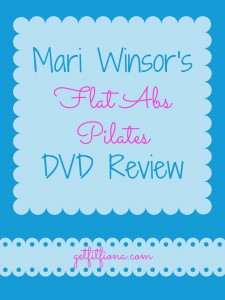 Mari Winsor's Flat Abs Pilates DVD Review March 24 2015