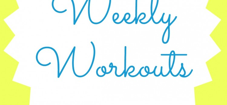 Weekly Workouts: April 5 to 11 2015
