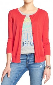Cardigan Old Navy April 21 2015
