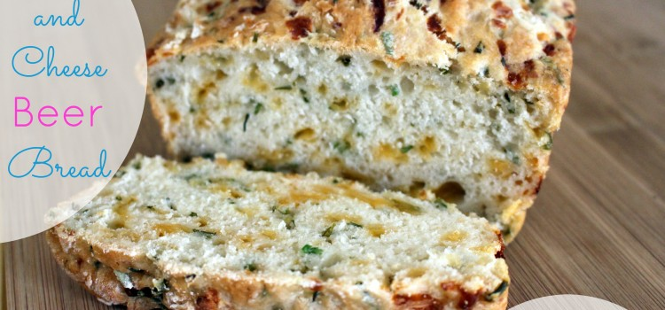 Chive and Cheese Beer Bread