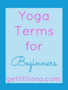 Yoga Terms for Beginners April 16 2015