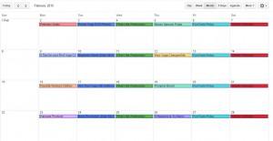 Editorial Calendar Google Calendar