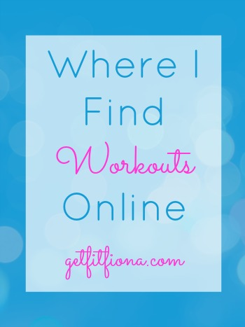 Where I Find Workouts Online June 29 2015 350