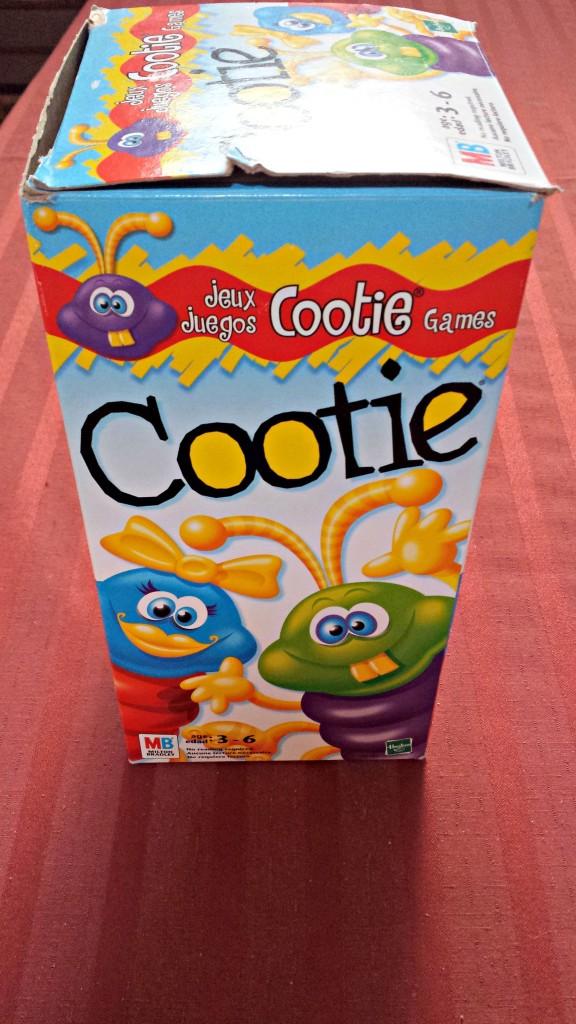 Babysitting Cootie Game August 31 2015
