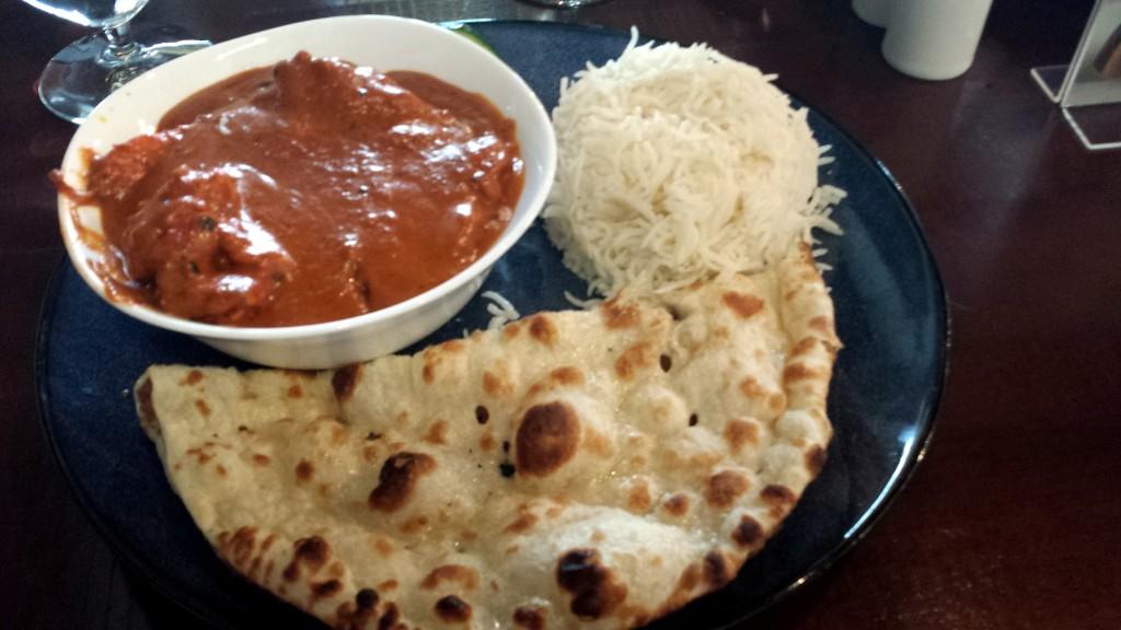 Indian Restaurant Butter Chicken August 28 2015