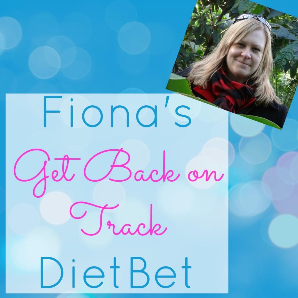 Fiona's Get Back on Track DietBet September 2015