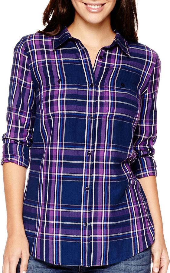 Fall Fashion Plaid Shirt Novemeber 4 2015