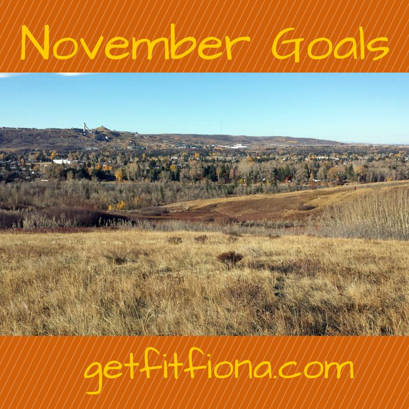 November Goals November 2 2015