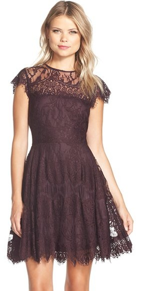 Lace Dress Holiday Fashion December 9 2015