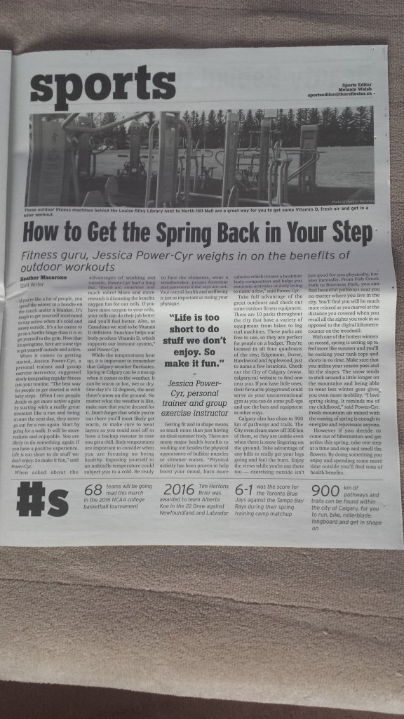 Reflector Article March 25 2016