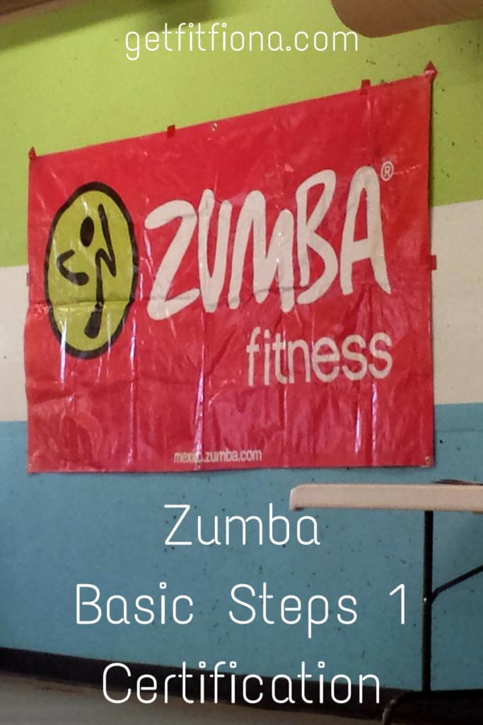 Zumba Basic Steps 1 Certification
