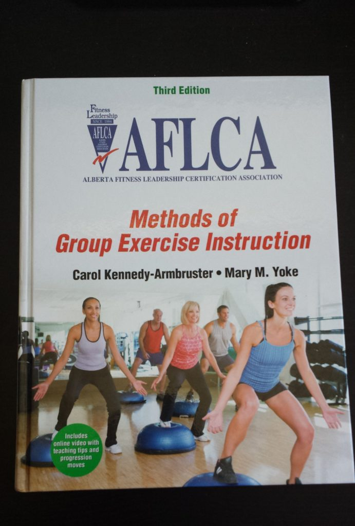 AFLCA Group Exercise Textbook