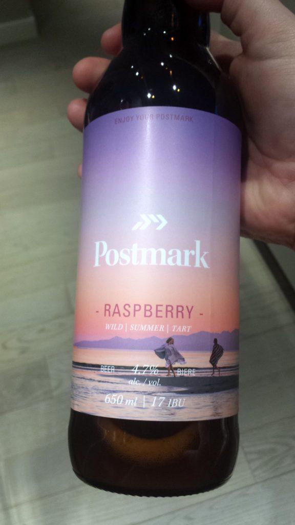 Postmark Raspberry Beer