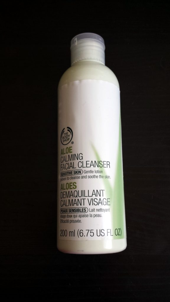 The Body Shop Aloe Facial Cleanser