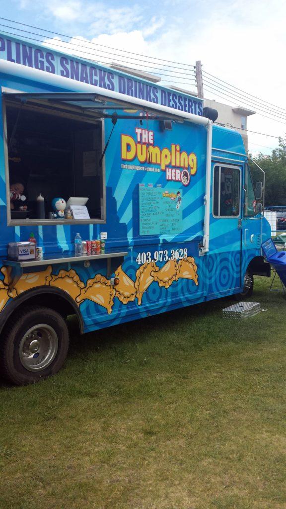 The dumpling hero food truck