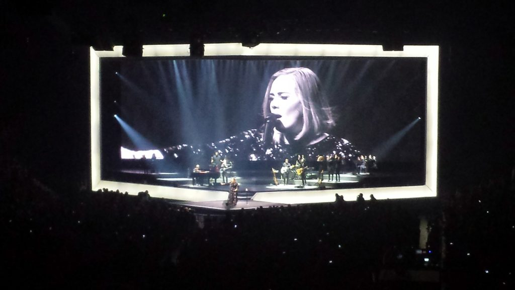 Adele concert July 2016 Vancouver
