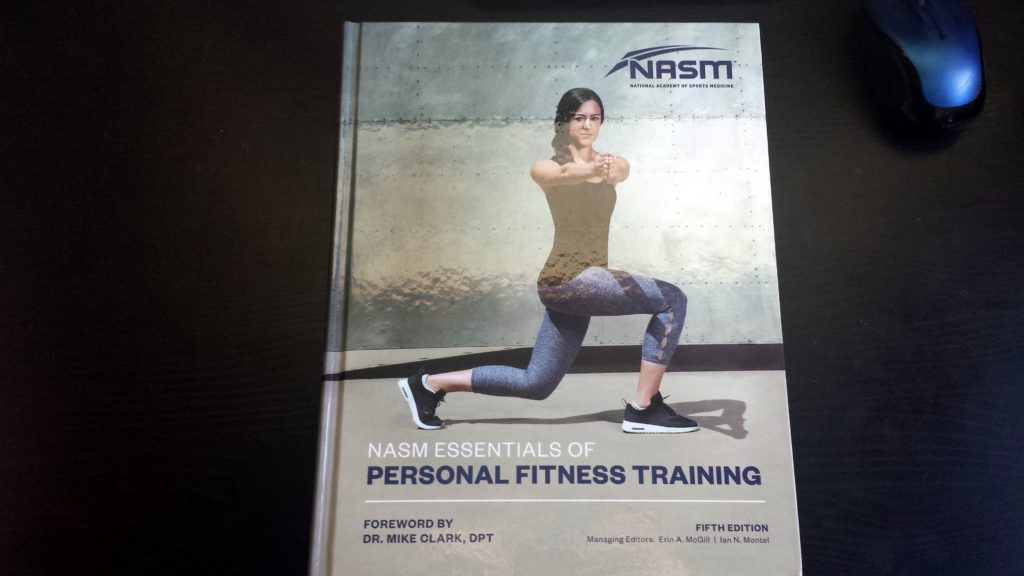 Why I Chose NASM Certification Textbook