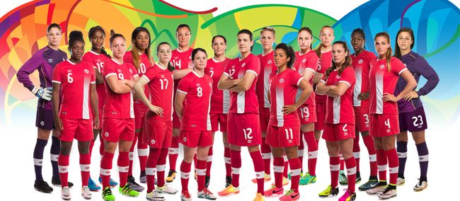 Canada Women's Olympic Soccer Team