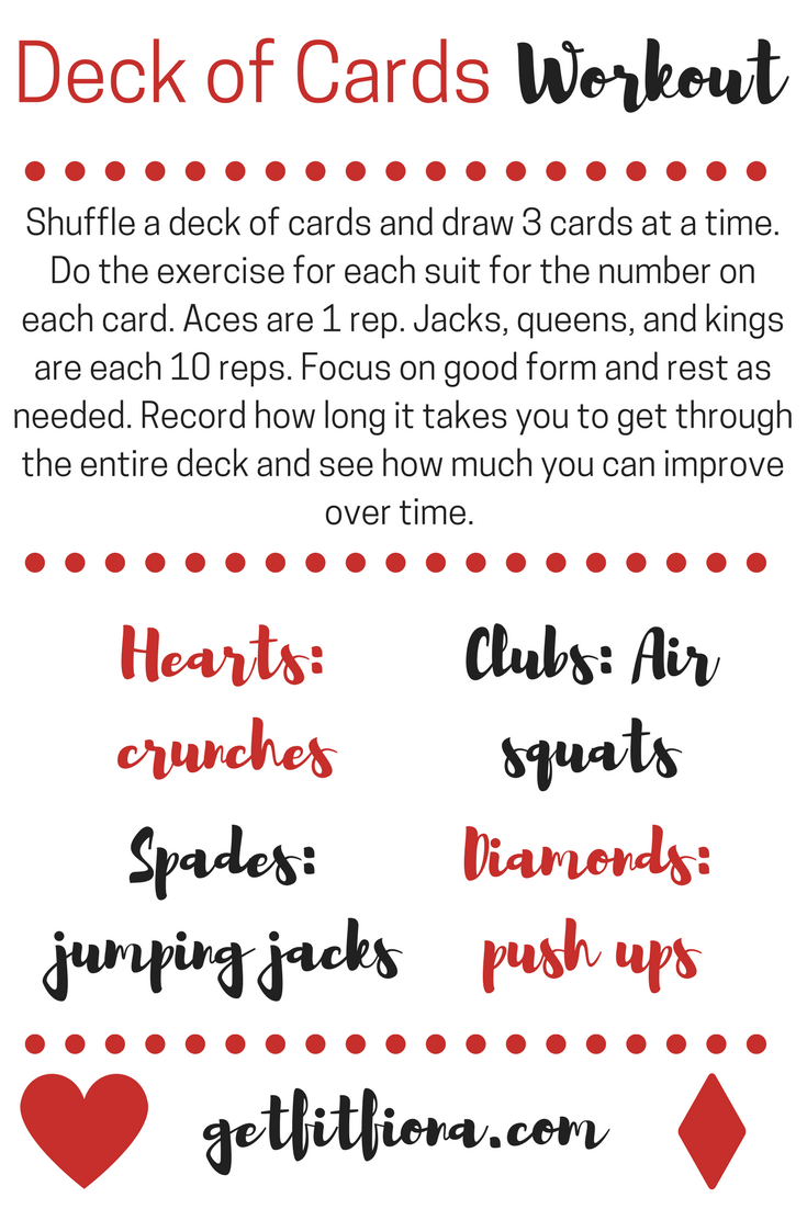circuit training station cards how to use