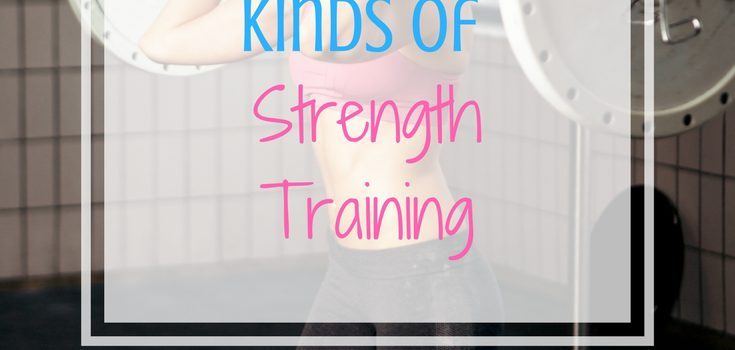 The 4 Different Kinds of Strength Training