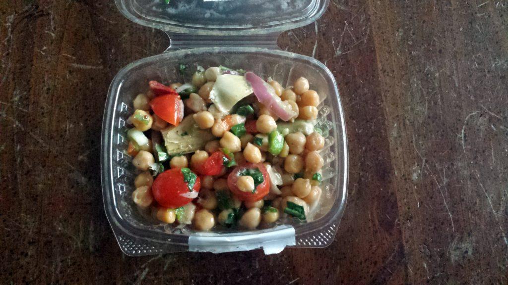 Chickpea and Artichoke Salad