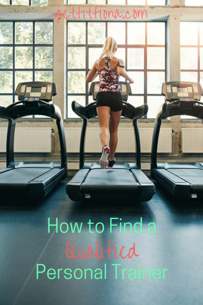 How to Find a Qualified Personal Trainer